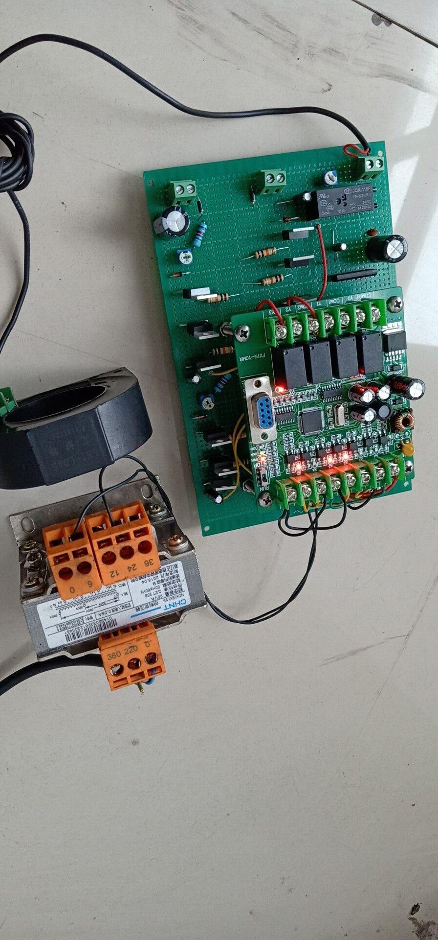 交流电焊机二次侧断电保护和调压装置