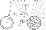 自行车发电装置及其发电自行车