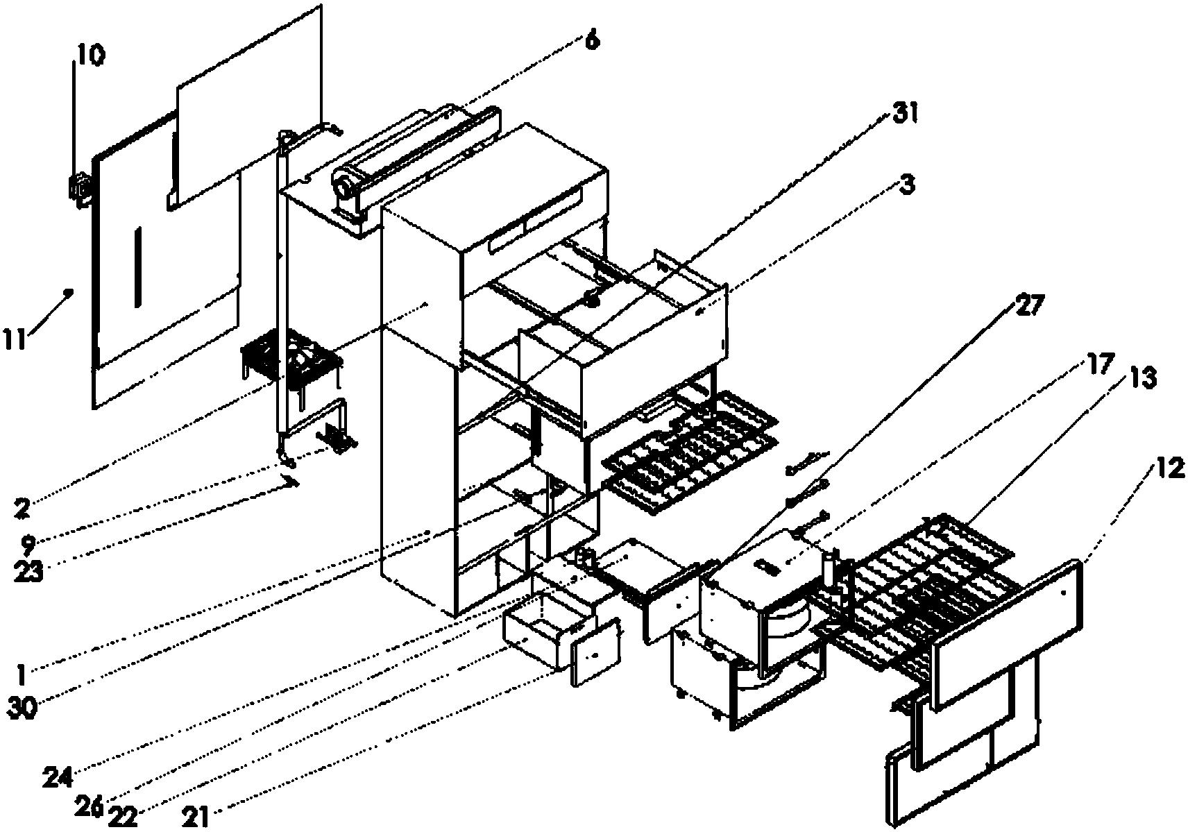 空调和消毒碗柜集成设备(公开号:CN206176631U)