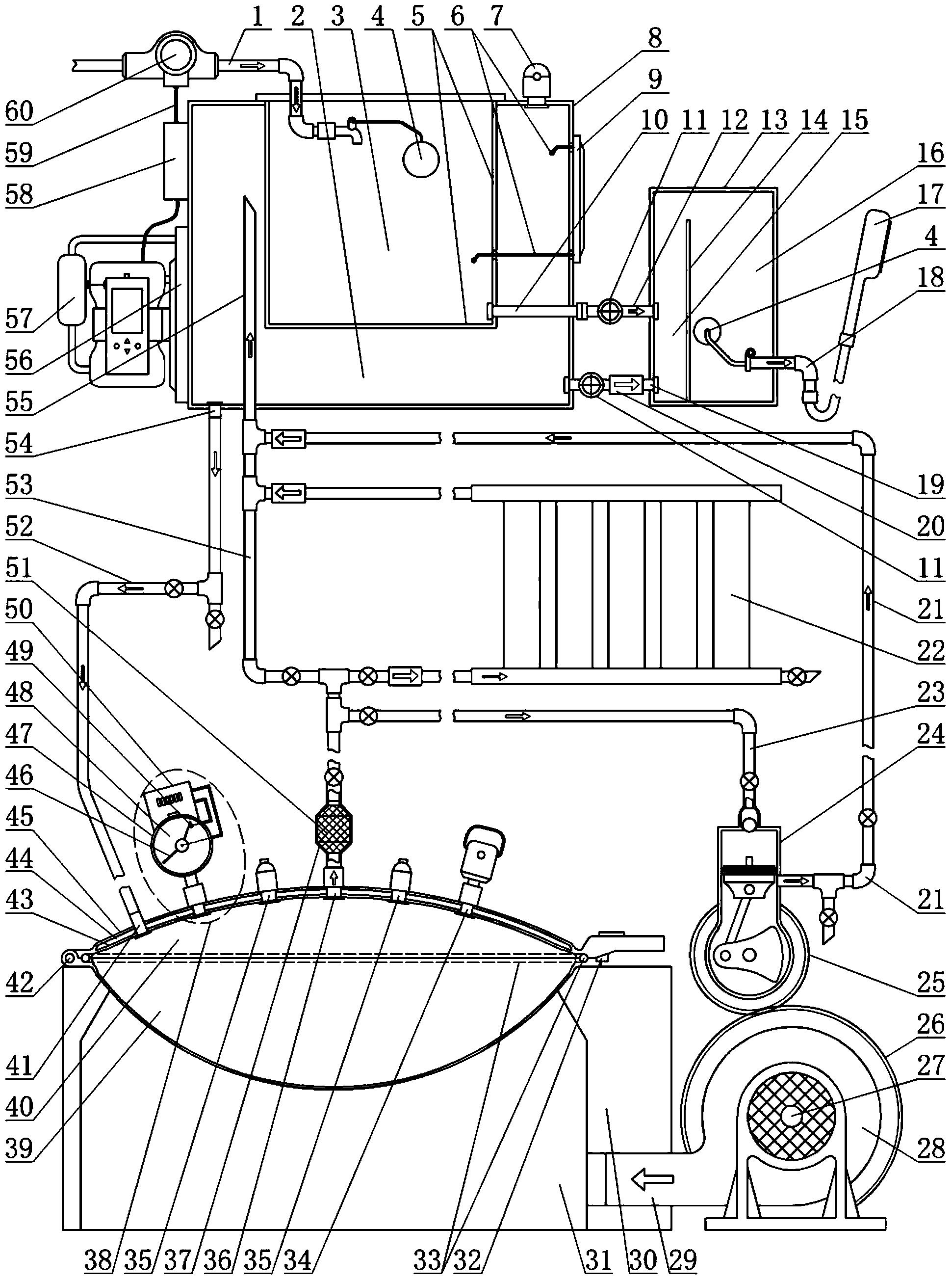 农家大锅蒸汽回收系统(公开号:CN105135416B)