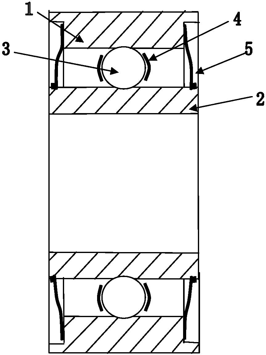 防水轴承(公开号:CN106640980A)