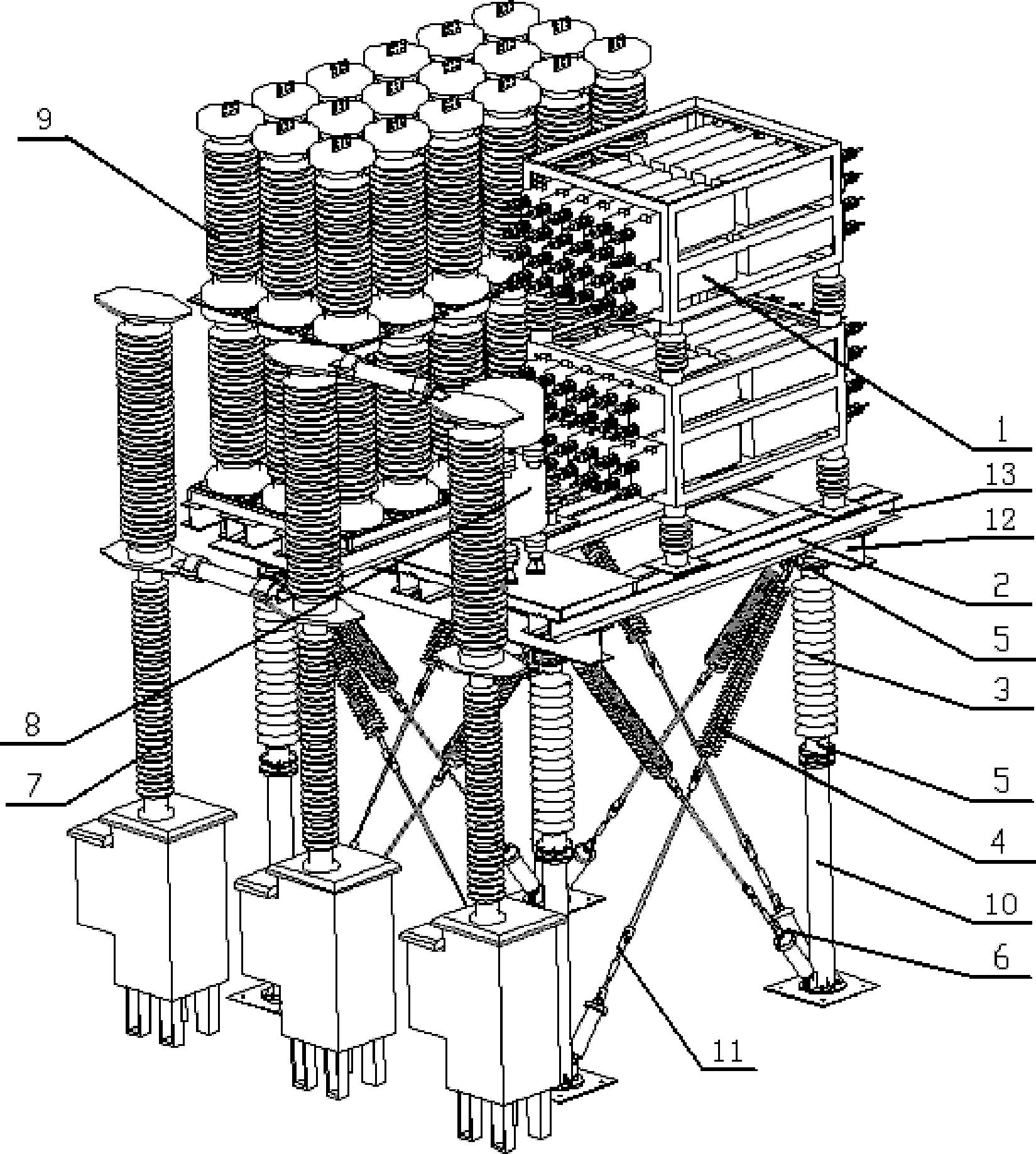 一种多断口特高压直流断路器结构
