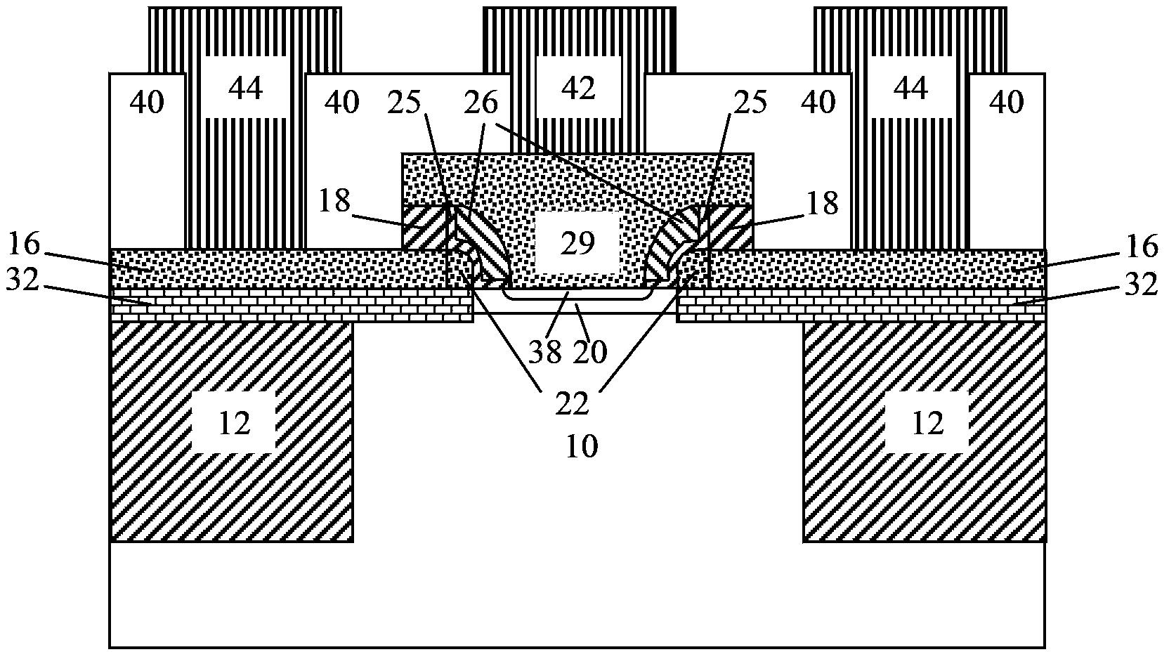 自对准抬升外基区锗硅异质结双极晶体管及其制备方法
