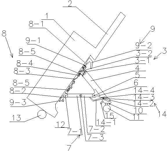 折杆式推杆箱包(公开号:CN104886899A)(CN104886899A)