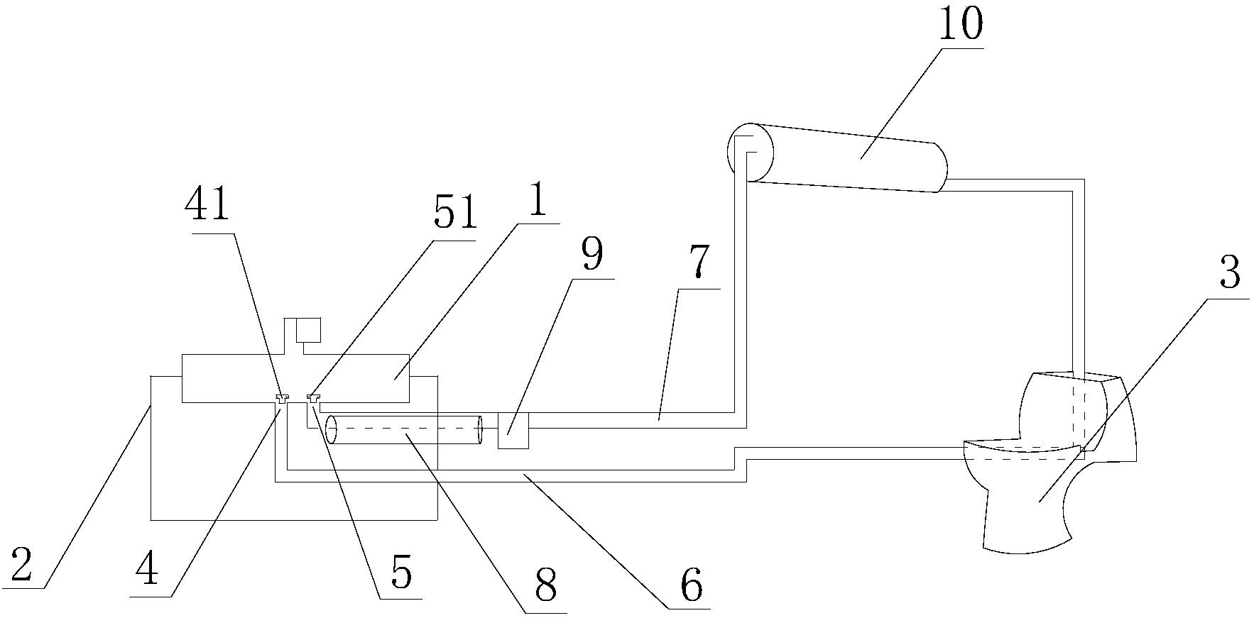 节能卫浴系统(公开号:CN205502118U)