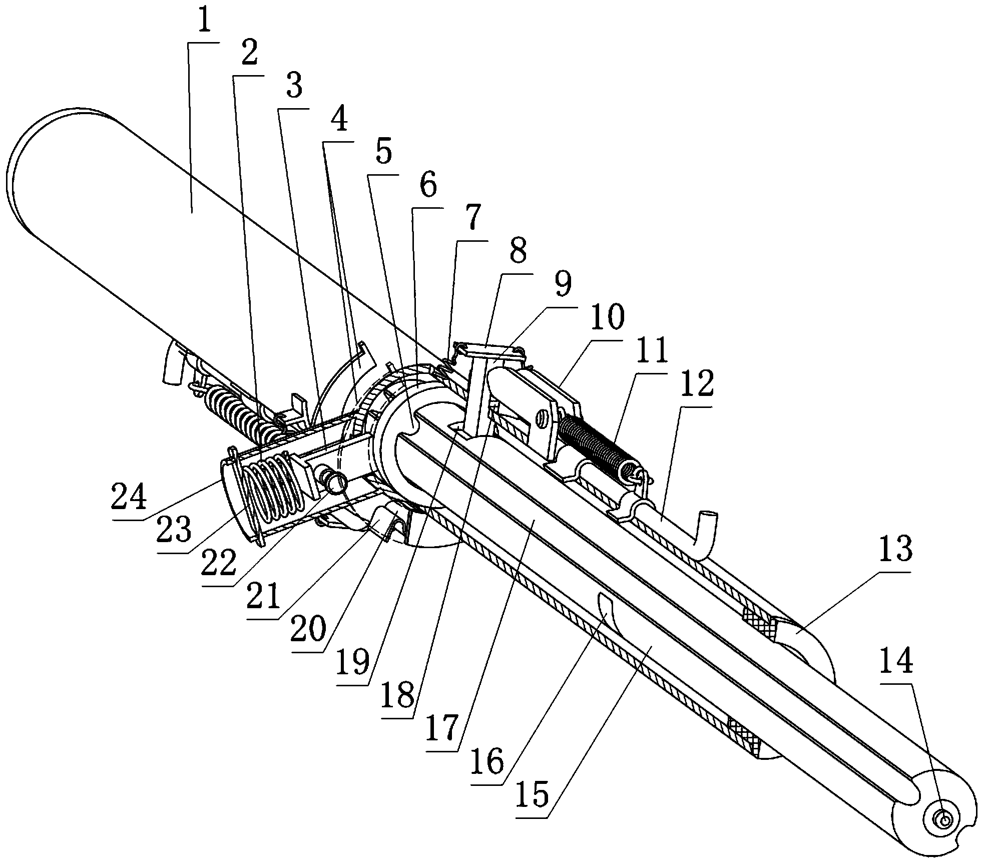一种手杖(公开号:CN104705923A)