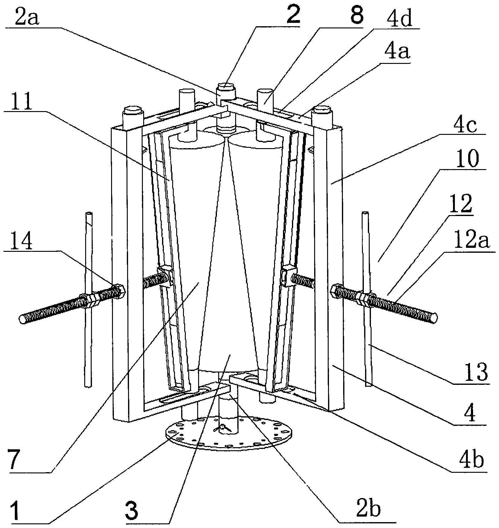 锥筒卷板机(公开号:CN105170727A)