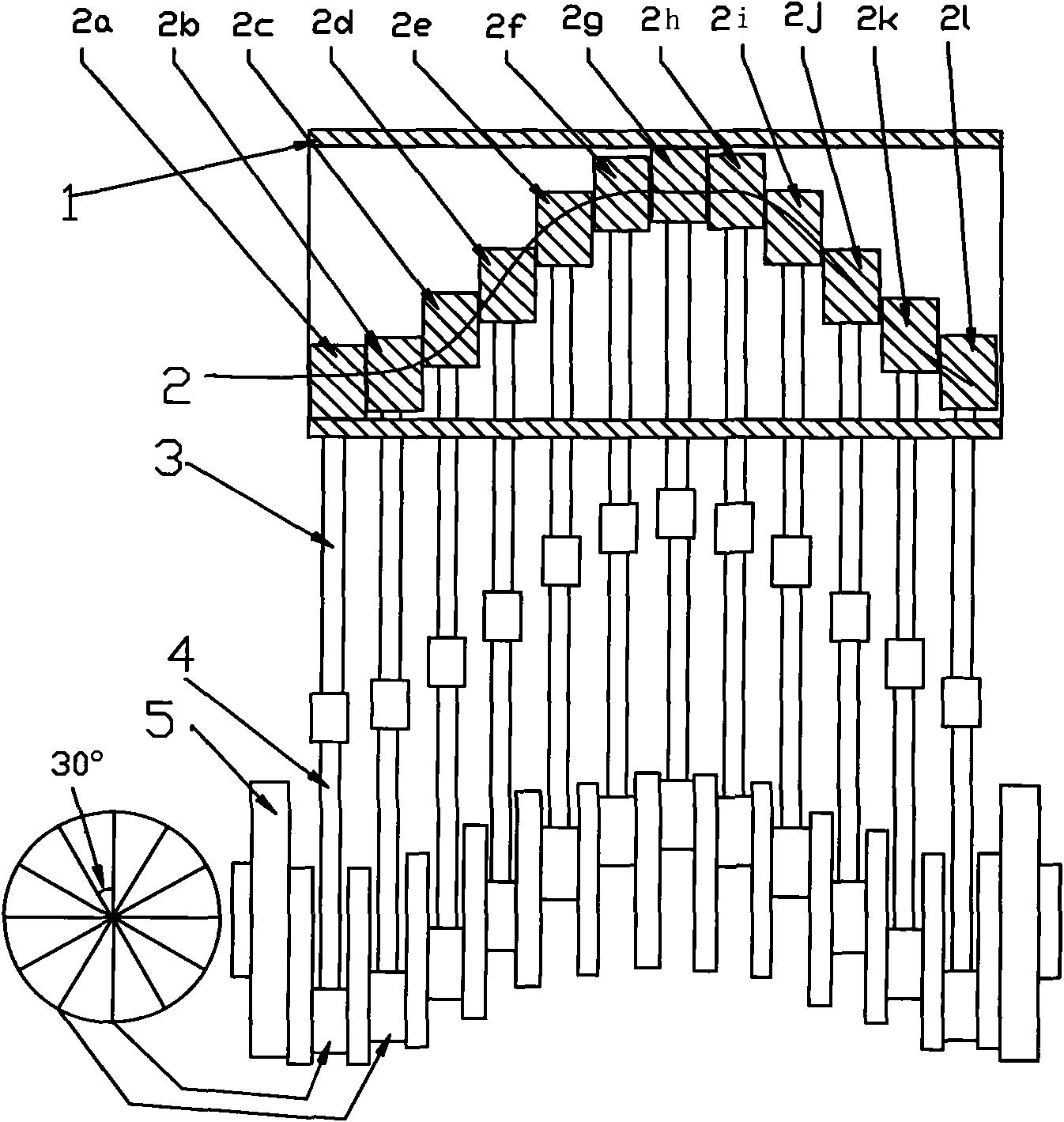 一种动力转换装置(公开号:CN102434213A)