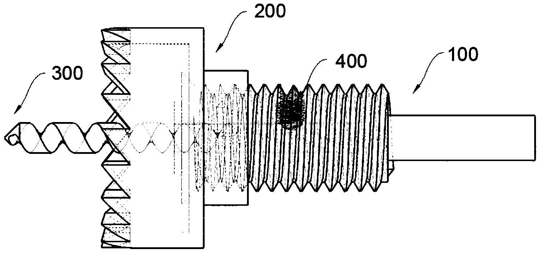 钻孔机(公开号:CN104475812A)