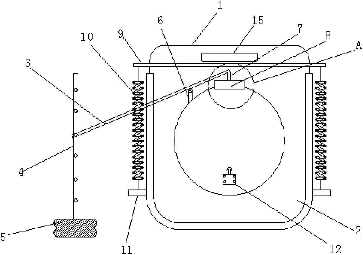 自动池口装置(公开号:CN207032187U)