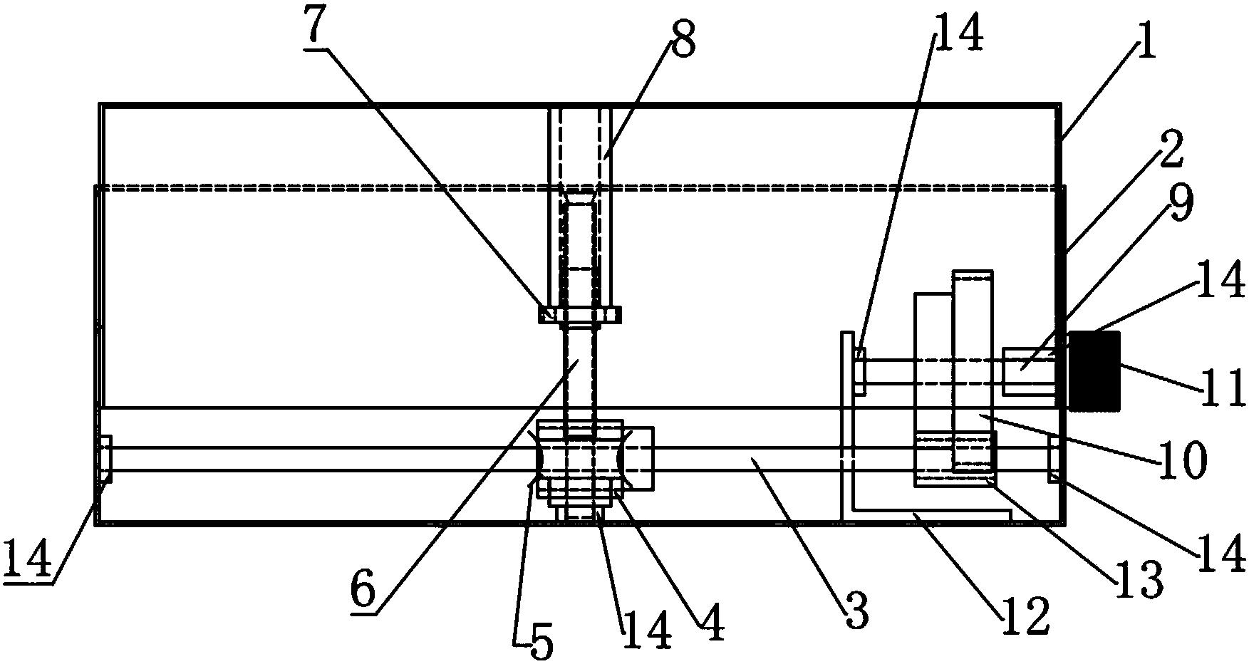 一种显示器升降台(公开号:CN205781817U)