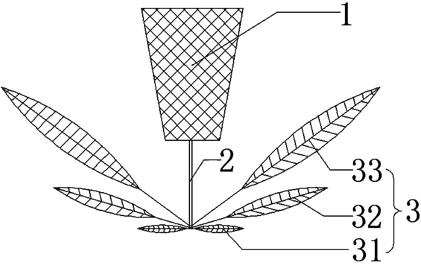 一种新型风扇及风扇灯(公开号:CN205858728U)