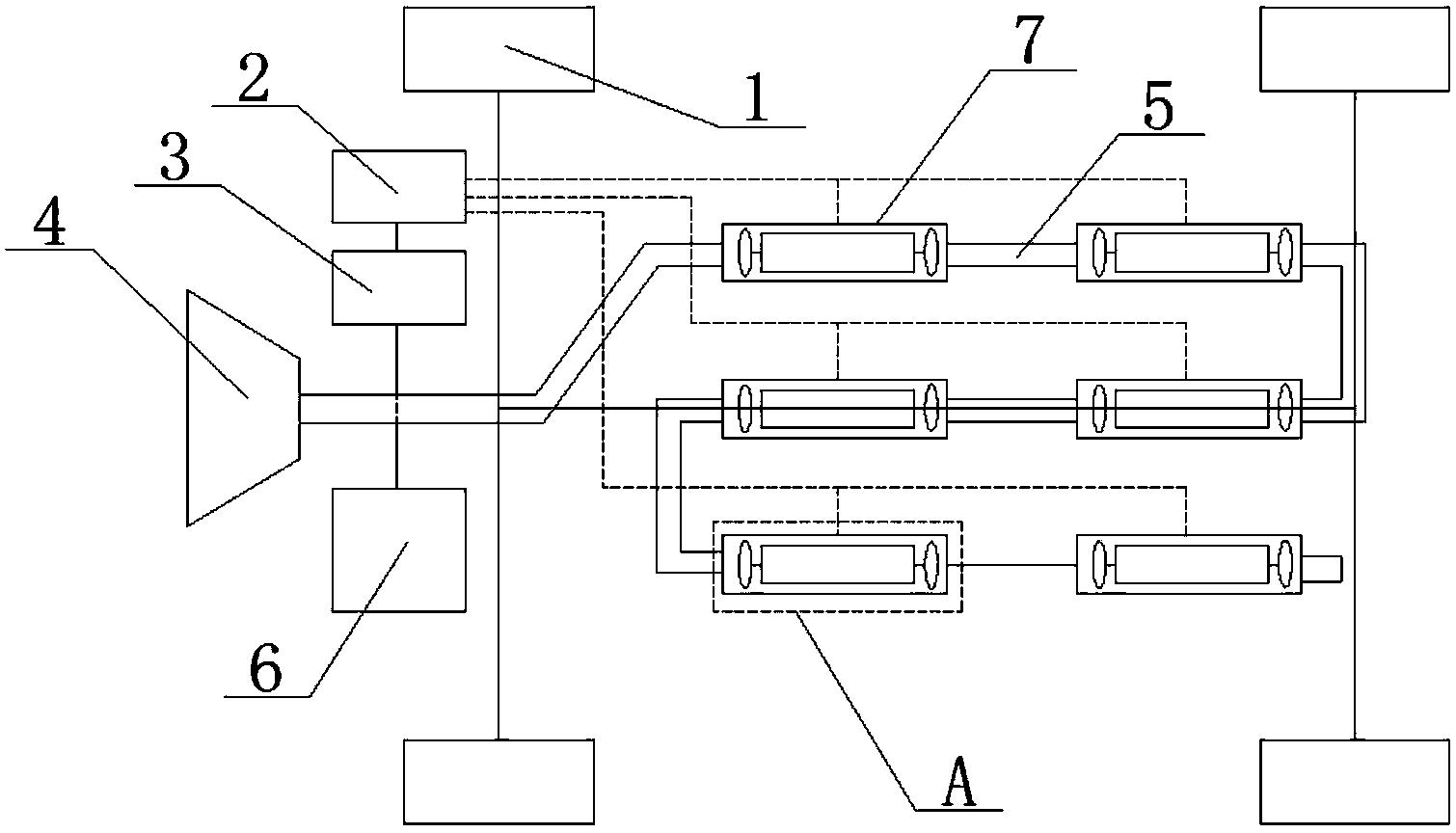 电动汽车风能蓄能装置(公开号:CN204936854U)