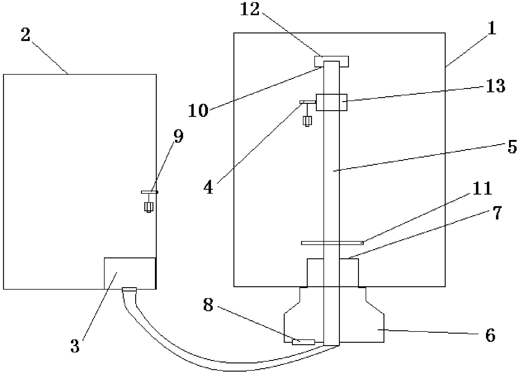 一种马桶水箱供水控制装置(公开号:CN103485402A)