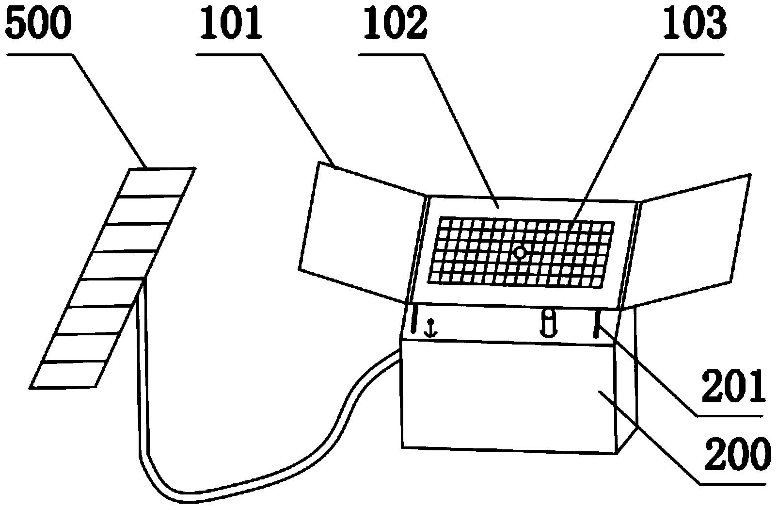 雨水收集装置(公开号:CN203613595U)