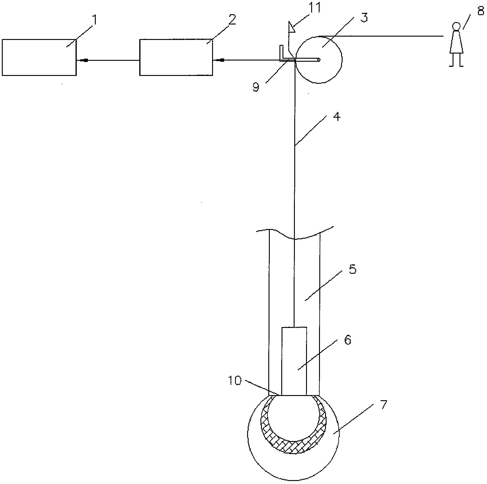 一种载体桩三击贯入度自动测量仪(公开号:CN206486910U)
