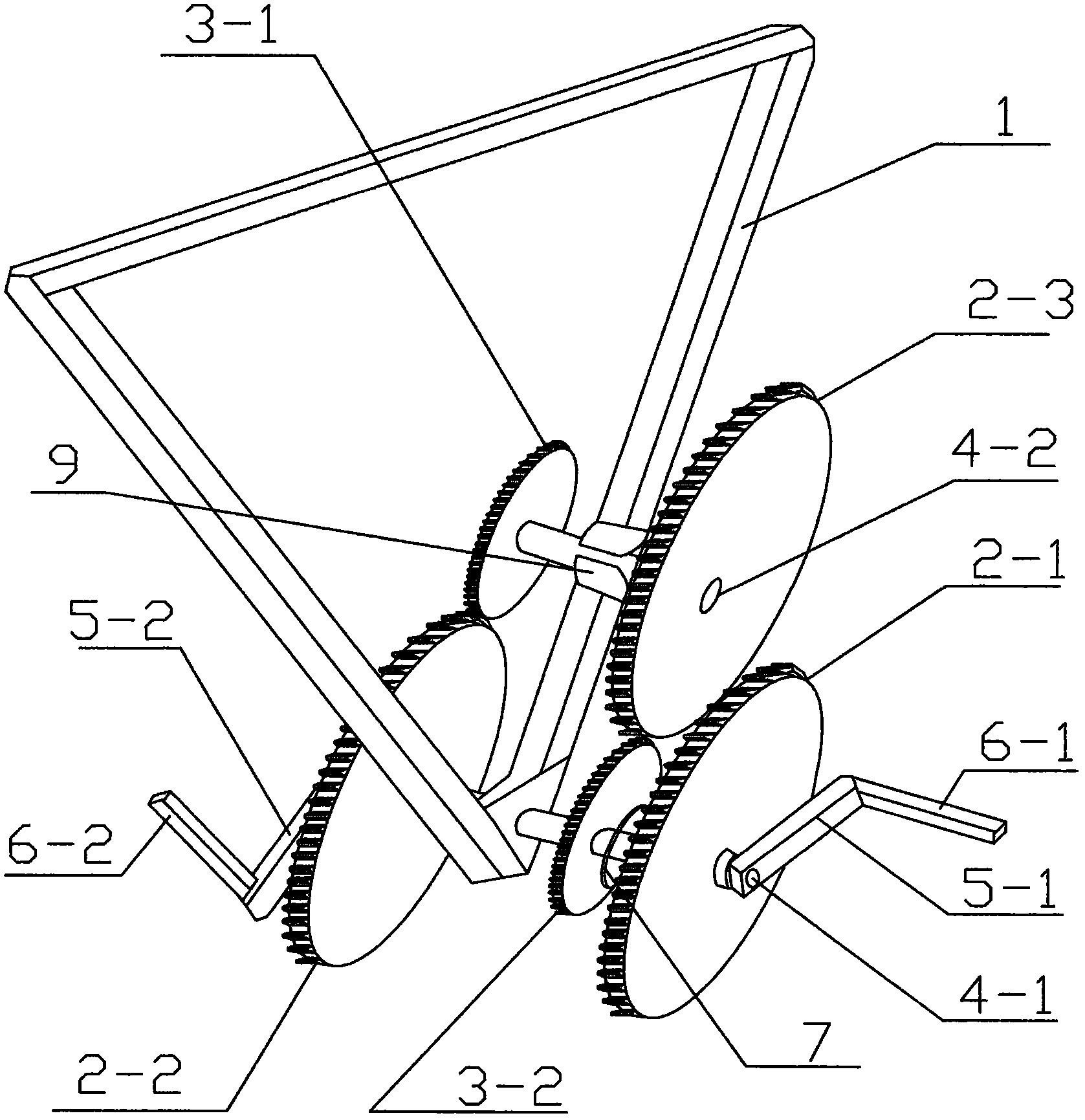 一种自行车加速器(公开号:CN205769965U)