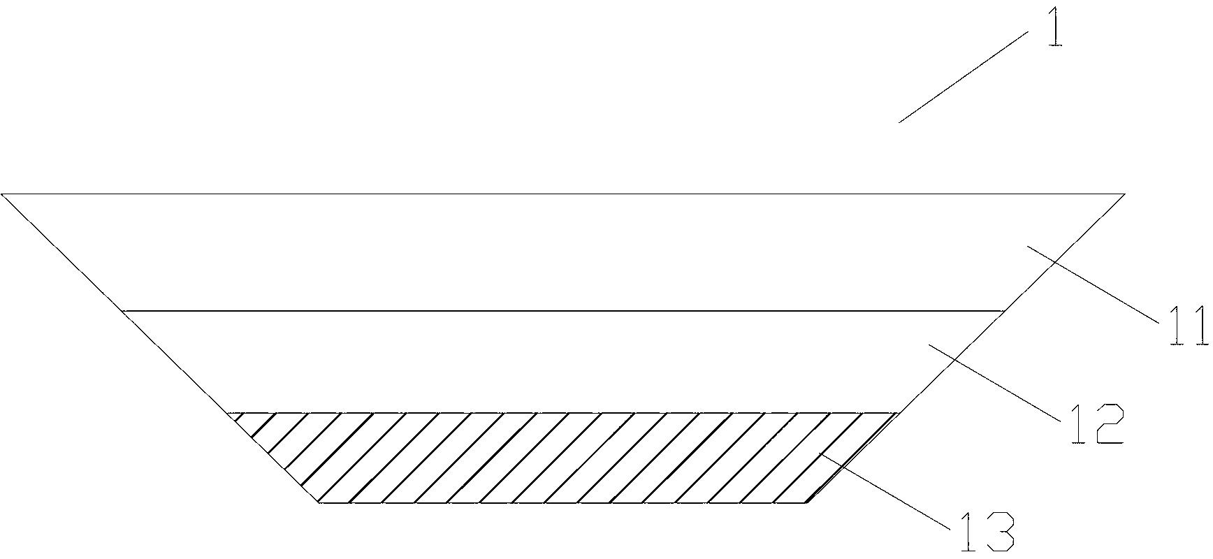 防沉船体(公开号:CN203186558U)