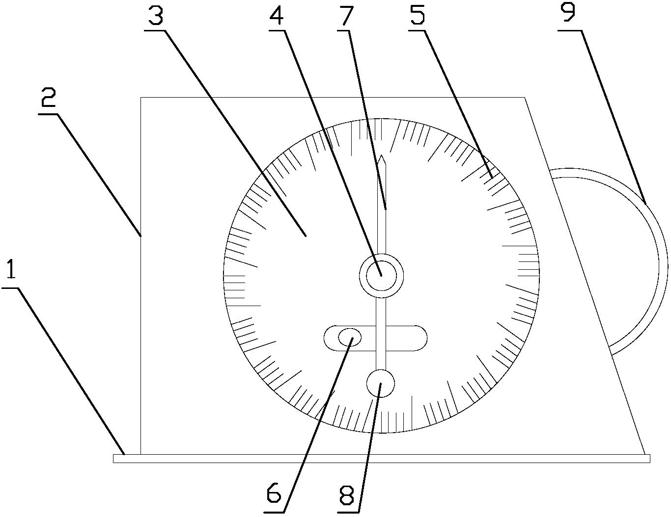 一种多功能坡度测量仪(公开号:CN205691107U)