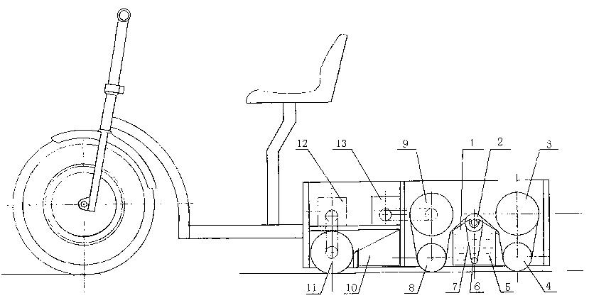 新型节水擦地机(公开号:CN203447241U)