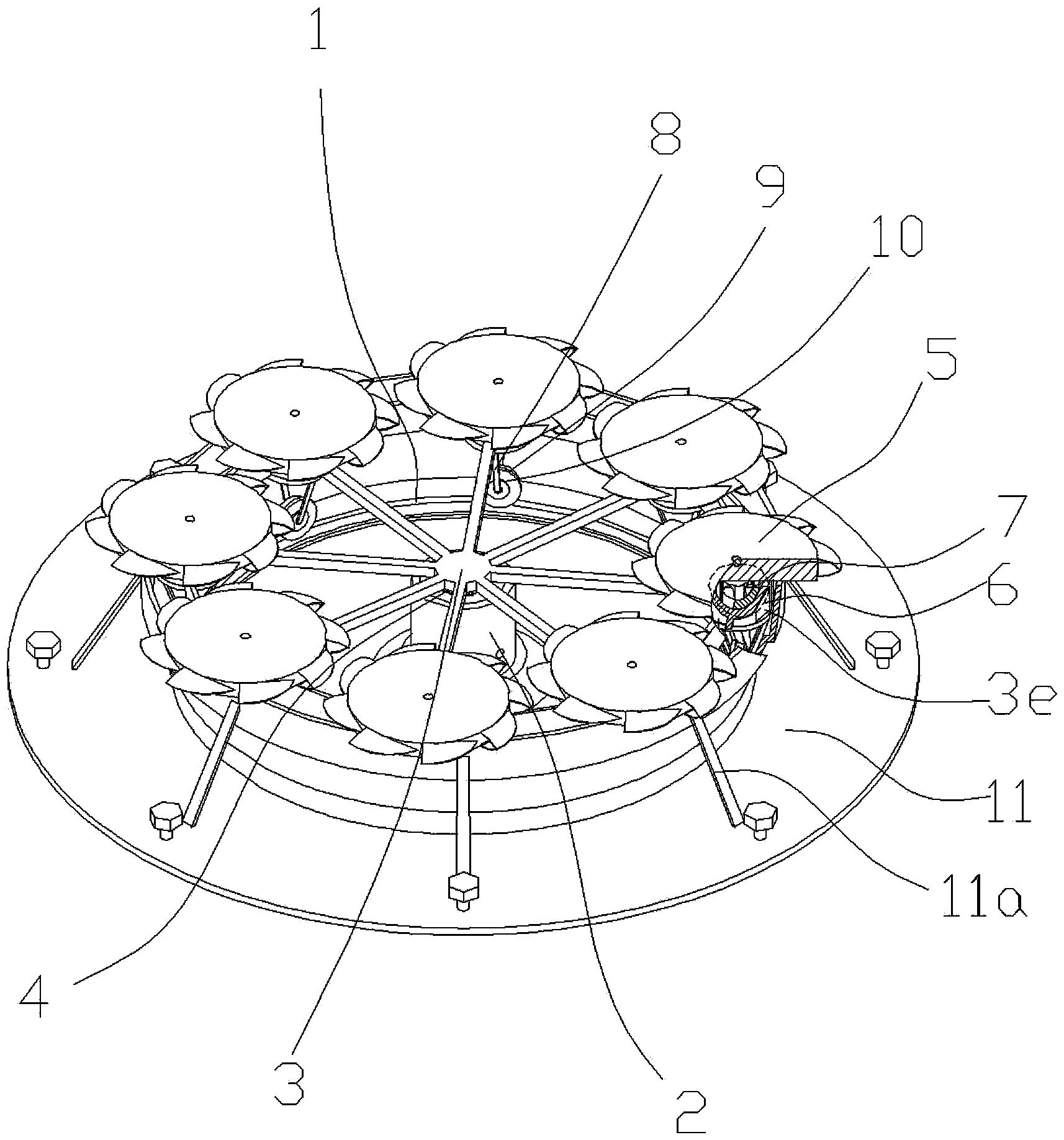 一种空气动力发电机(公开号:CN105065205A)