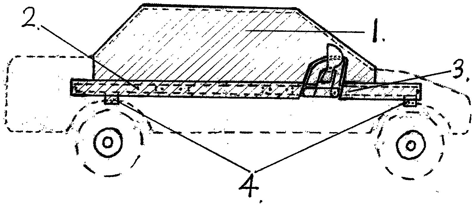 小型轿车玻璃防护棚罩(公开号:CN205768585U)