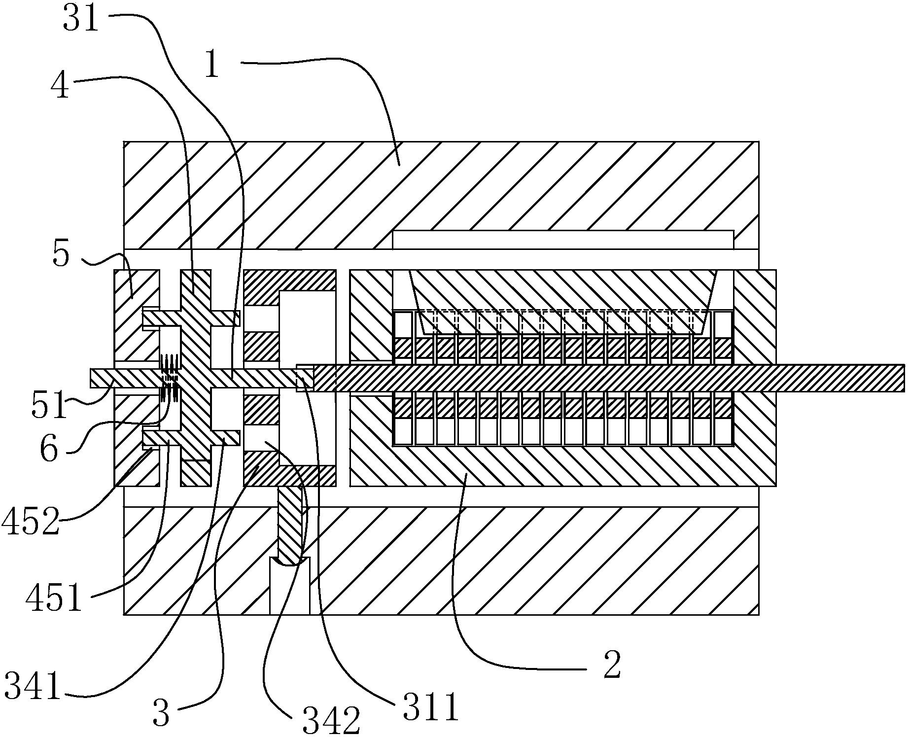 一种锁具离合结构(公开号:CN206942361U)