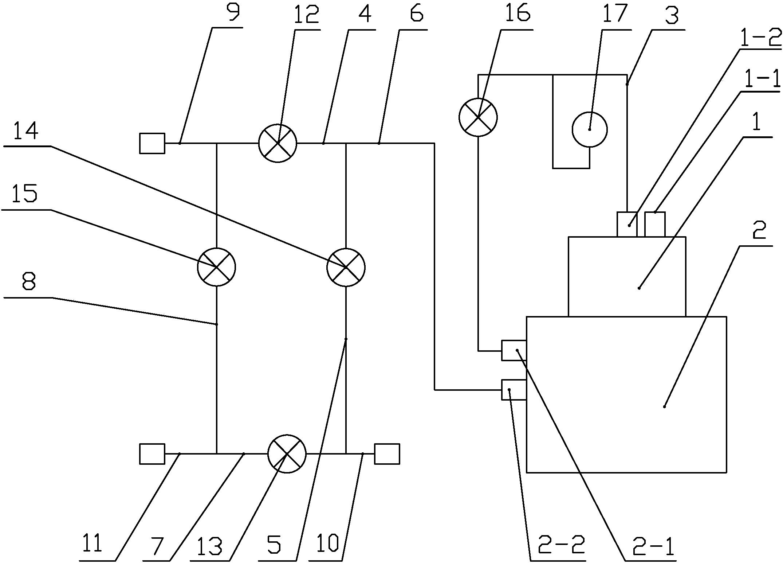一种地热管双向清洗装置(公开号:CN206627016U)