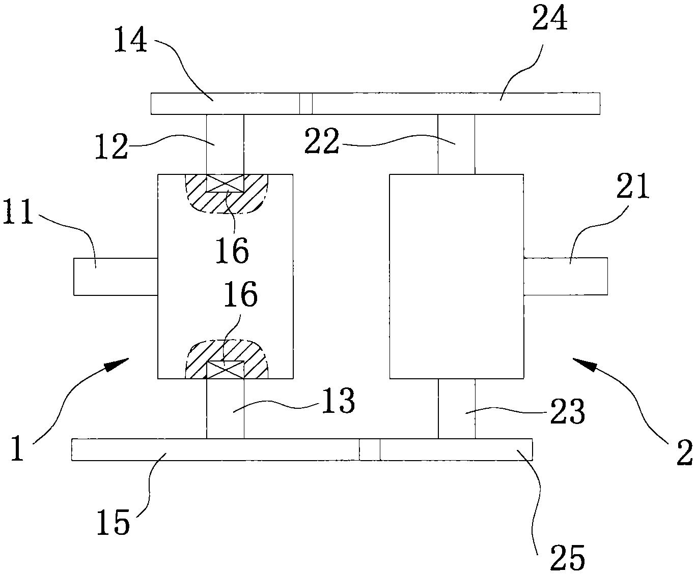 一种差分耦合式自动变速装置(公开号:CN205136508U)