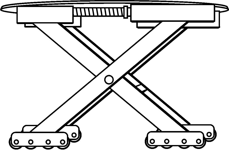 多功能车辆提升转向移动跨障装置(公开号:CN104609335A)