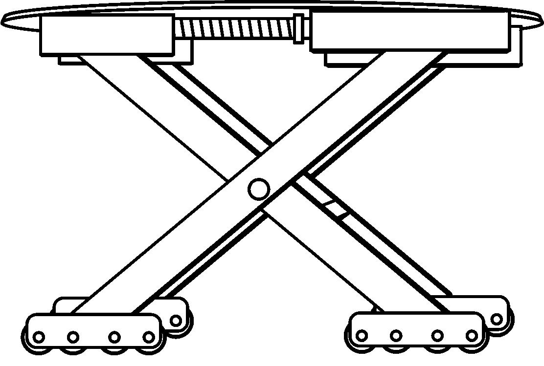 多功能车辆提升转向移动跨障装置(公开号:CN204549939U)