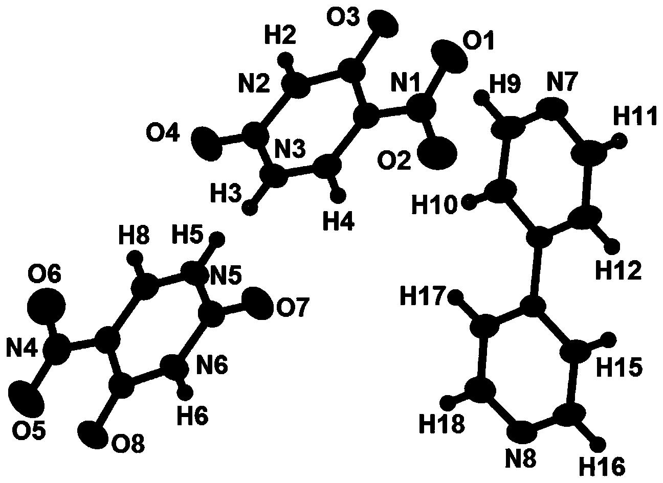 一种硝基尿嘧啶药物超分子共晶及其制备方法