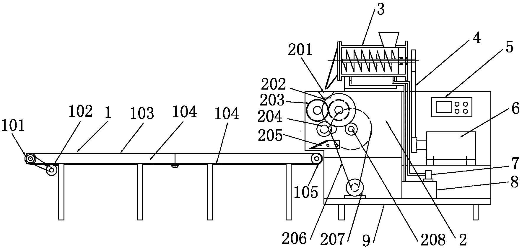 一根面速成机(公开号:CN205658277U)