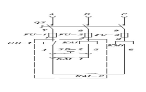 一种电机缺项保护电路及三项电机装置