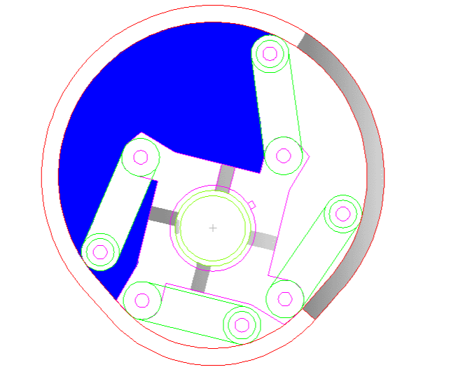 摆动叶片液气动力装置初步技术-新型容积式动力装置