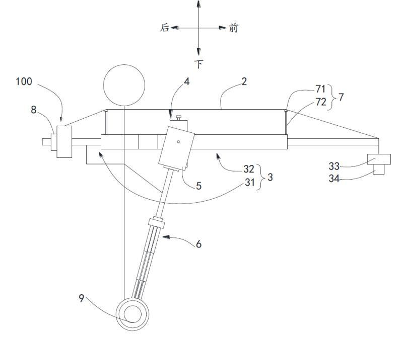 一种张力装置和摄像摇臂