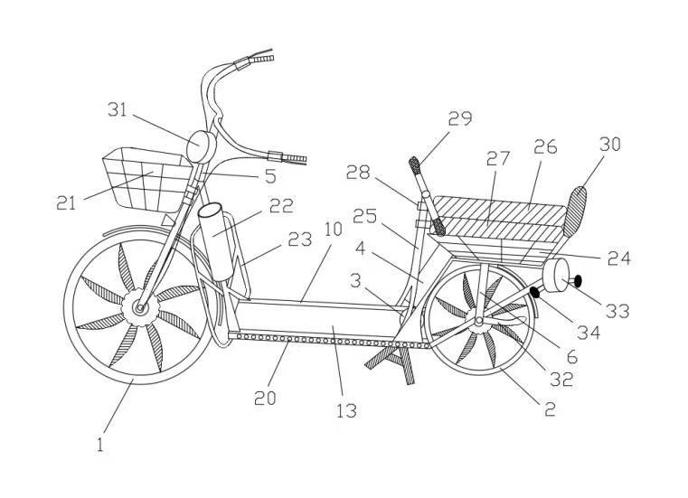 一种具有行走健身功能的电动自行车