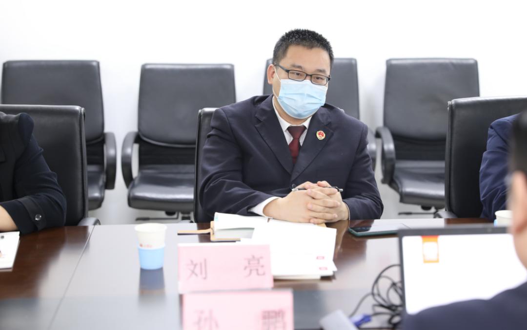 丰台区人民检察院、市场监督管理局领导 到八月瓜参观调研