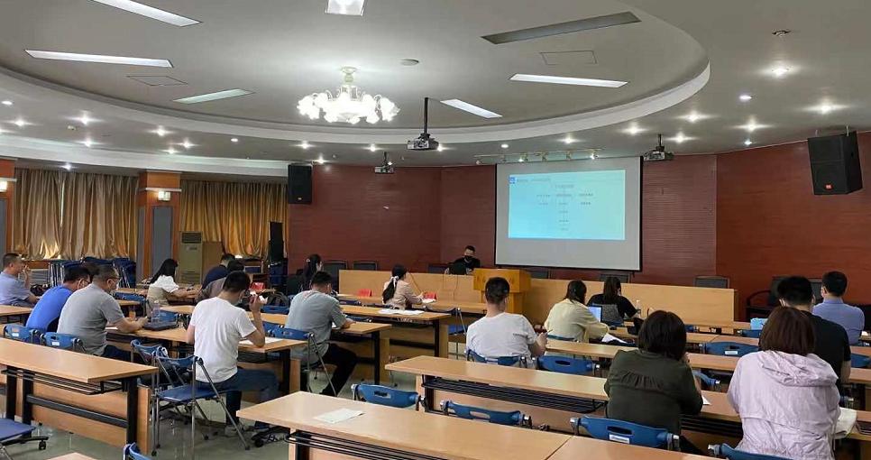八月瓜協辦的豐臺區科信局2021年度高新技術企業認定申報培訓順利舉行