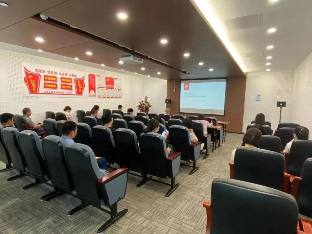 """格雷众创园""""2021年度高新技术企业认定专项培训""""顺利举办"""